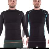 93 Brand Standard Issue Grappling Rashguard 2-Pack (Black, Tron)